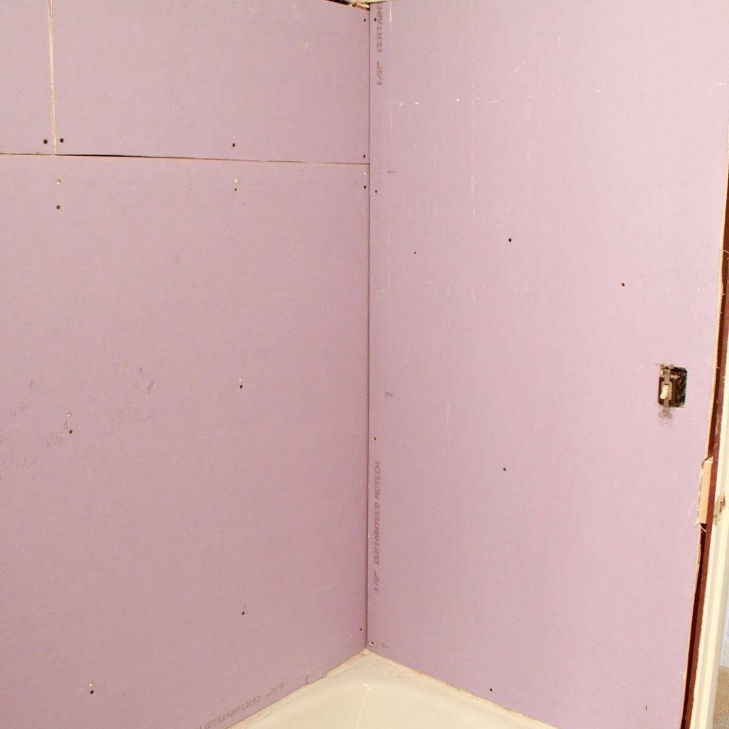 Drywall Bathroom Surround