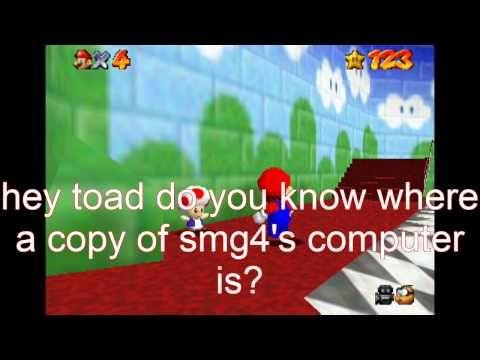 super mario 64 bloopers: P-O-I-S-O-N-E-D computer - YouTube
