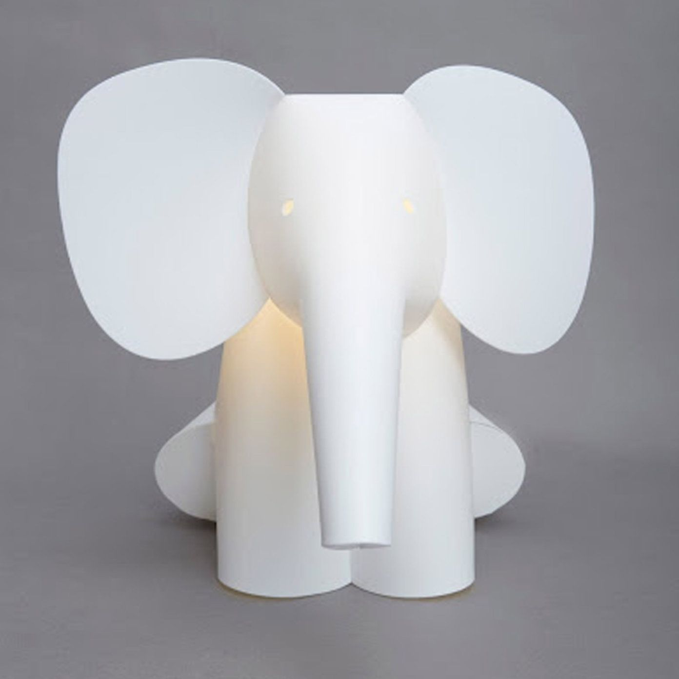 Buy Childrens Bedroom Nursery Elephant Light From The White - Childrens lights for bedrooms