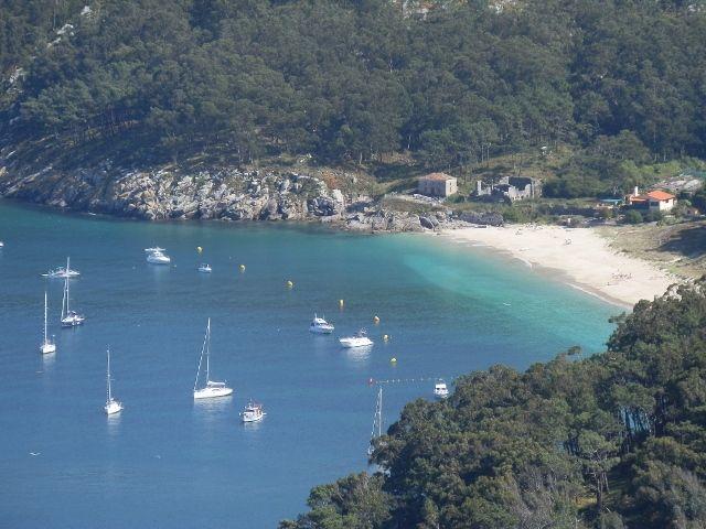 Cíes Islands. Ría de #Vigo.