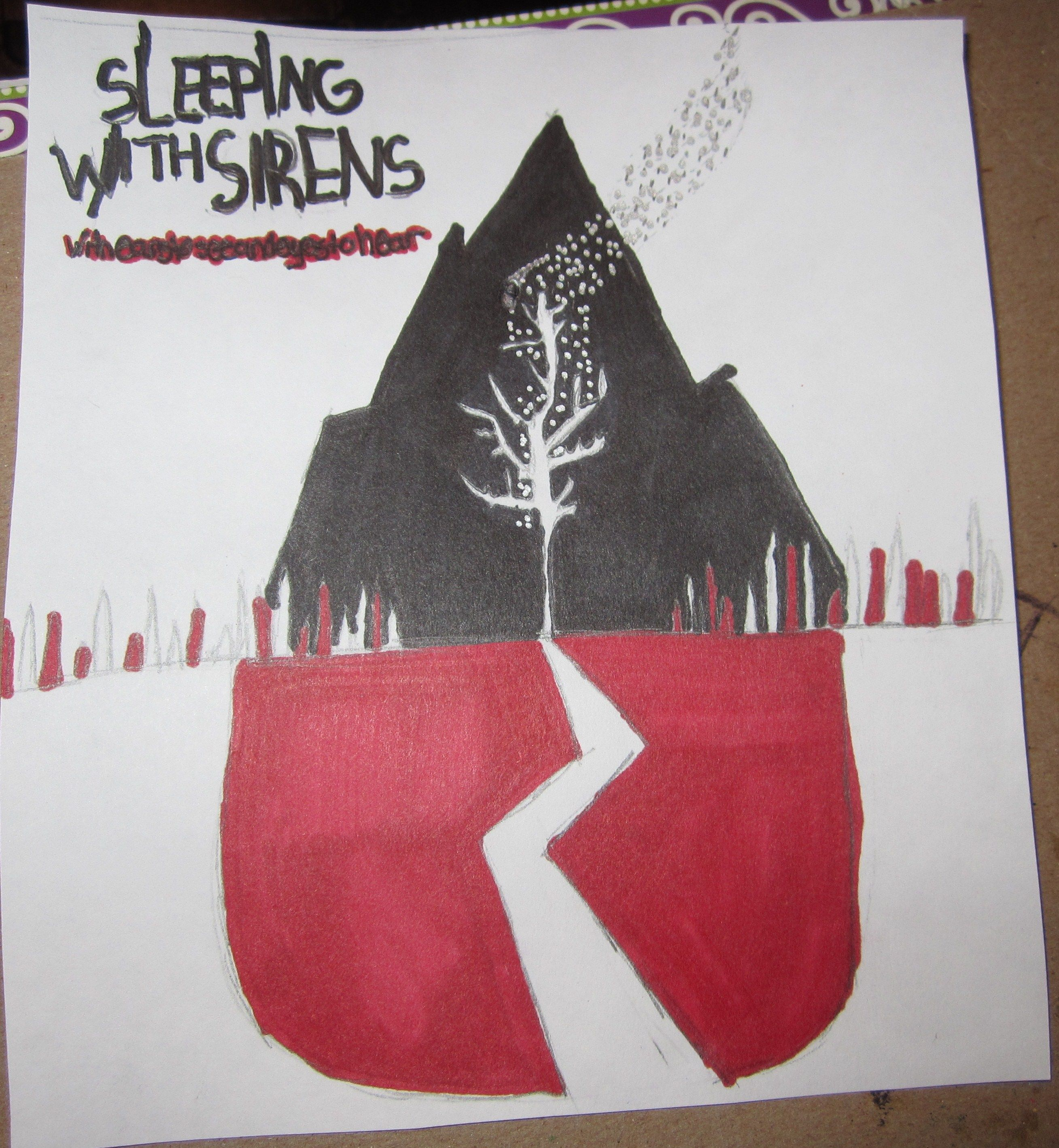 Sleeping With Sirens With Ears To See And Eyes To Hear Wallpaper
