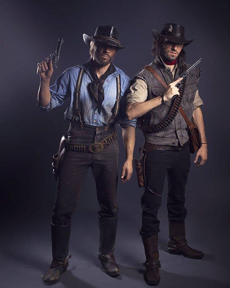 Incredible Cosplay Of Arthur And John Red Dead Redemption Artwork Red Dead Redemption Red Dead Redemption Art