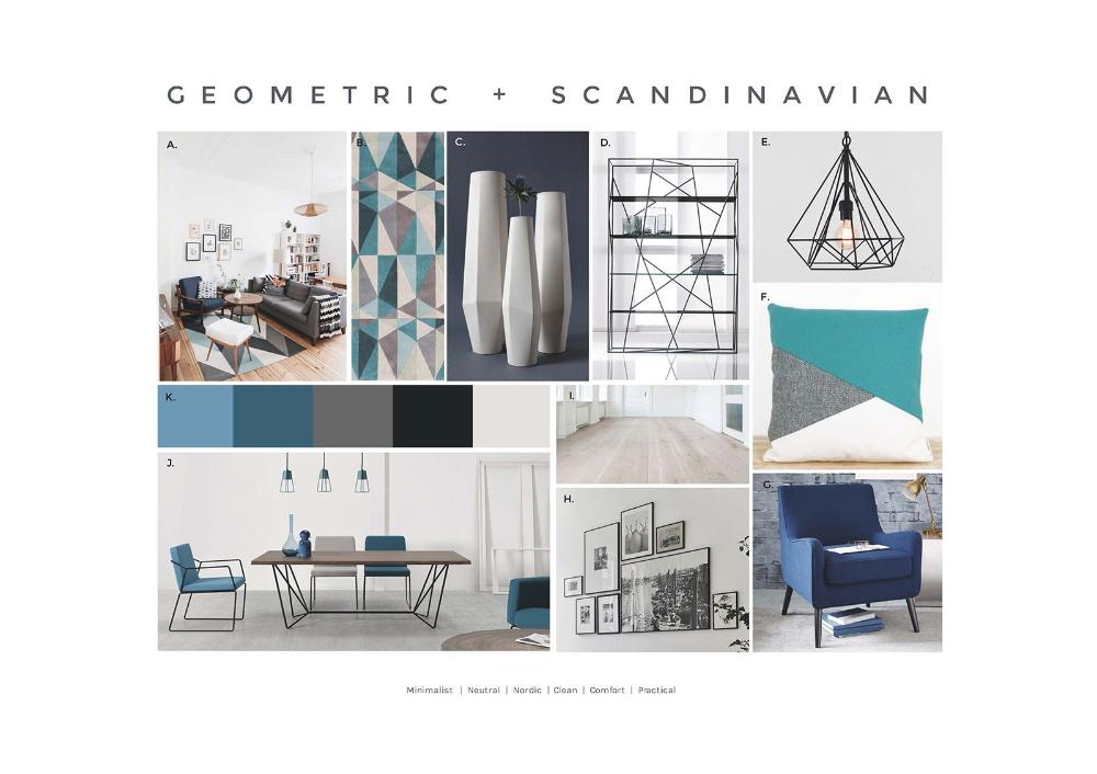 minimalist interior design concept board - Google Search ...