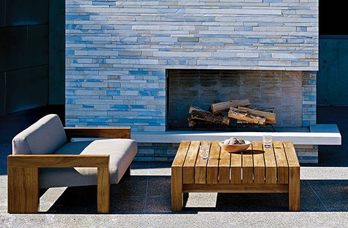 offset fireplace, Danao Outdoor furniture | Tereza | Pinterest ...