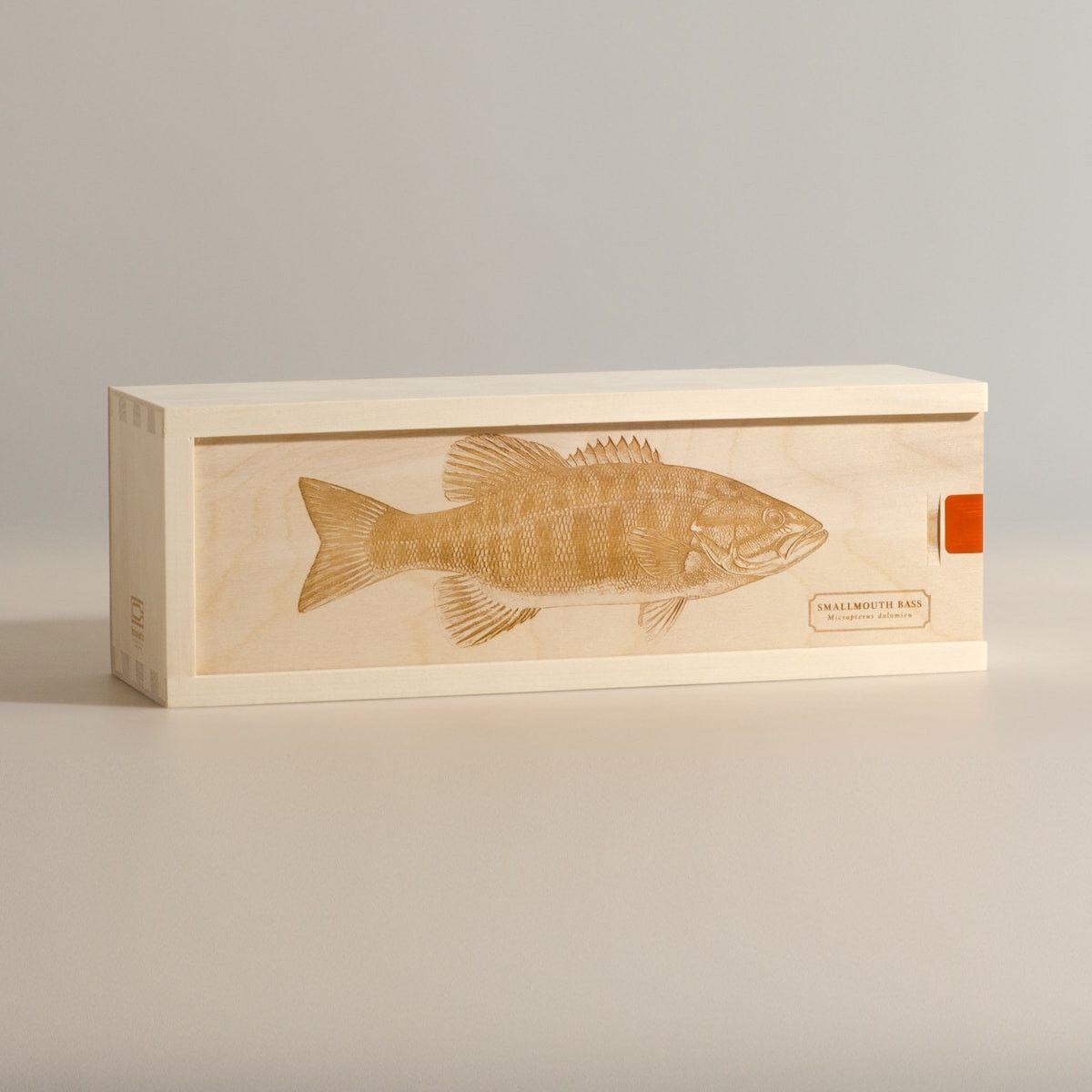 Smallmouth Bass - Wine Box