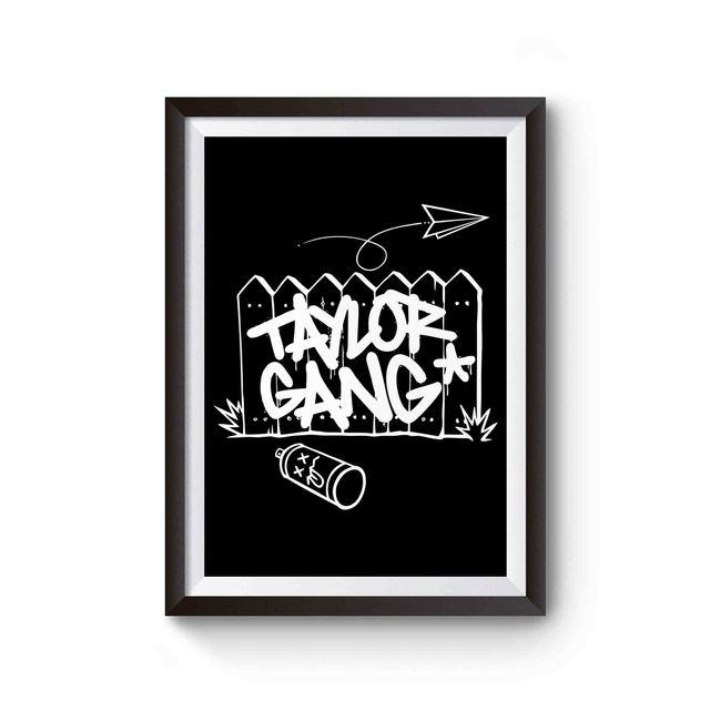 Wiz Khalifa Taylor Gang Poster The Wiz Taylors Gang Wiz Khalifa