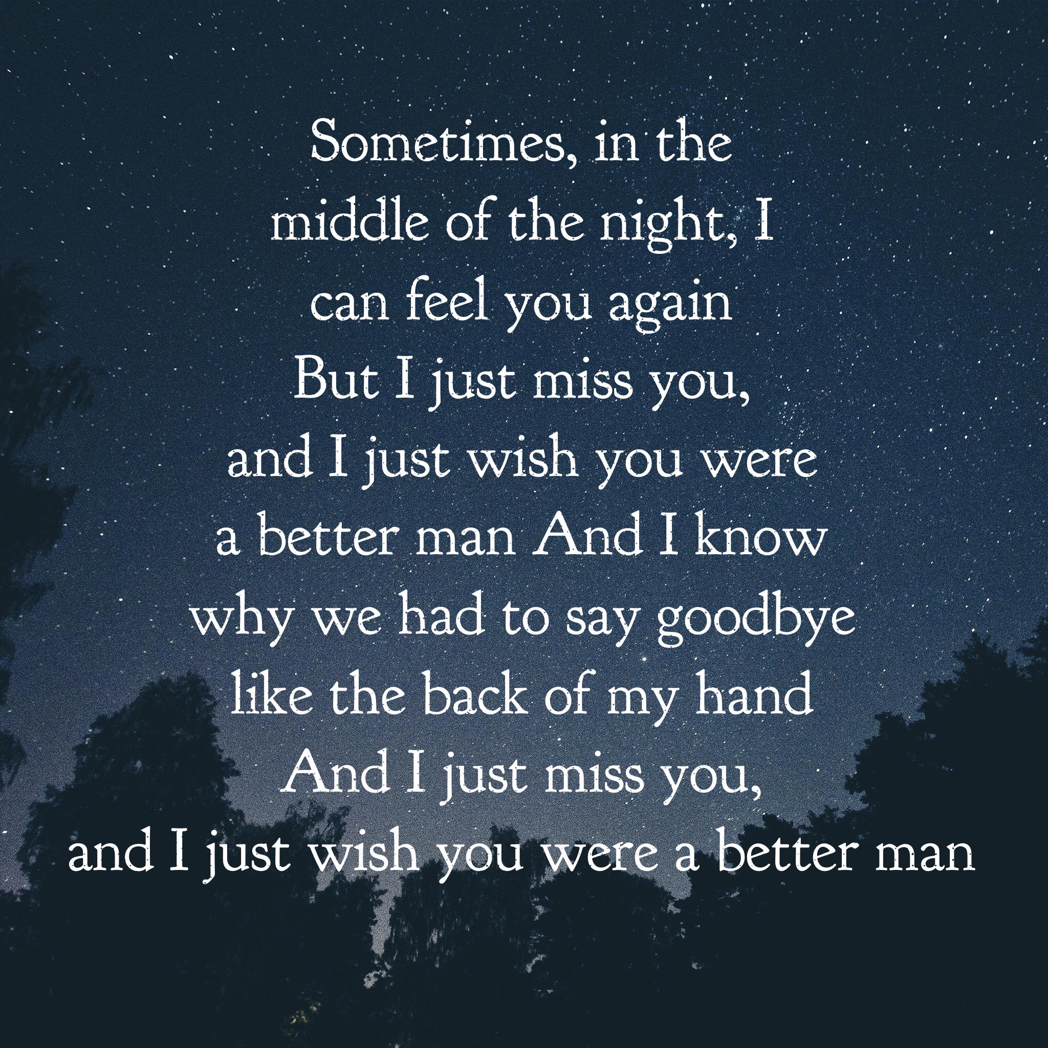 Better Man-Little Big Town ❤️ | Christian Music Therapy