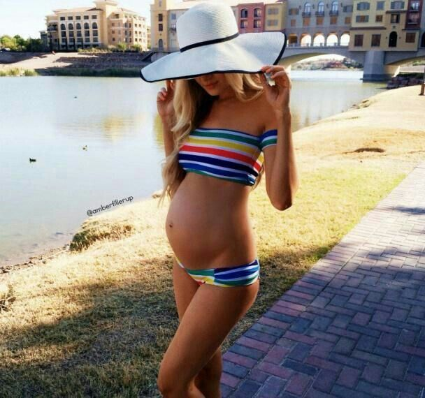 jordan bikini schwanger