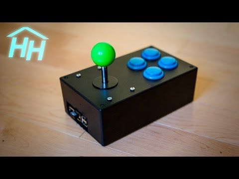 Build Your Own Portable Arcade Stick with a Raspberry Pi