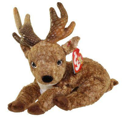 723931d5c5a Beanbag Plush 49019  Ty Beanie Baby - Roxie The Reindeer (Black Nose ...