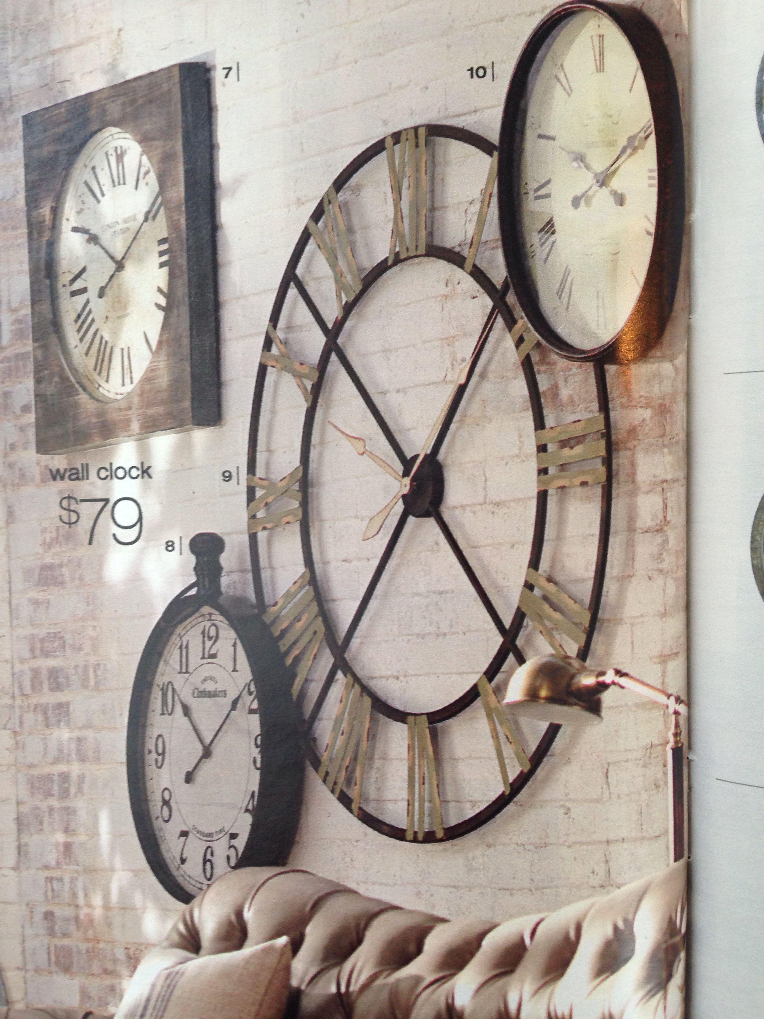 Edward Wall Clock 48 Quot In Diameter Home Decorators Com