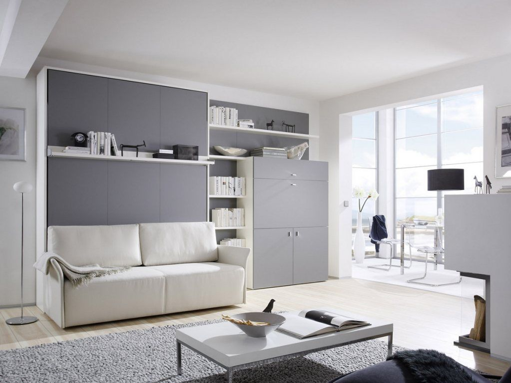 Wandbett Mit Sofa Wandbett Mit Sofa + Homeoffice | For Reference (living