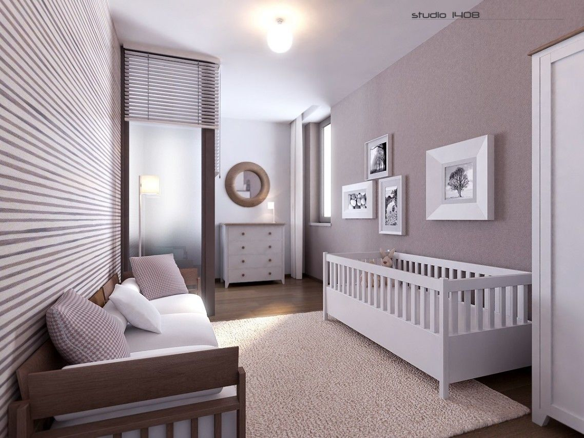 Excellent Modern Baby Room Design Ideas Decorating With White Wood