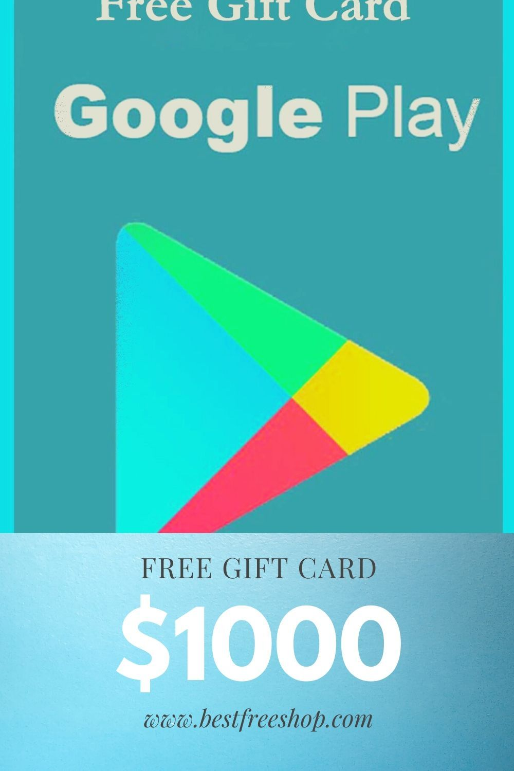 Google play free gift card in 2020 google play gift card