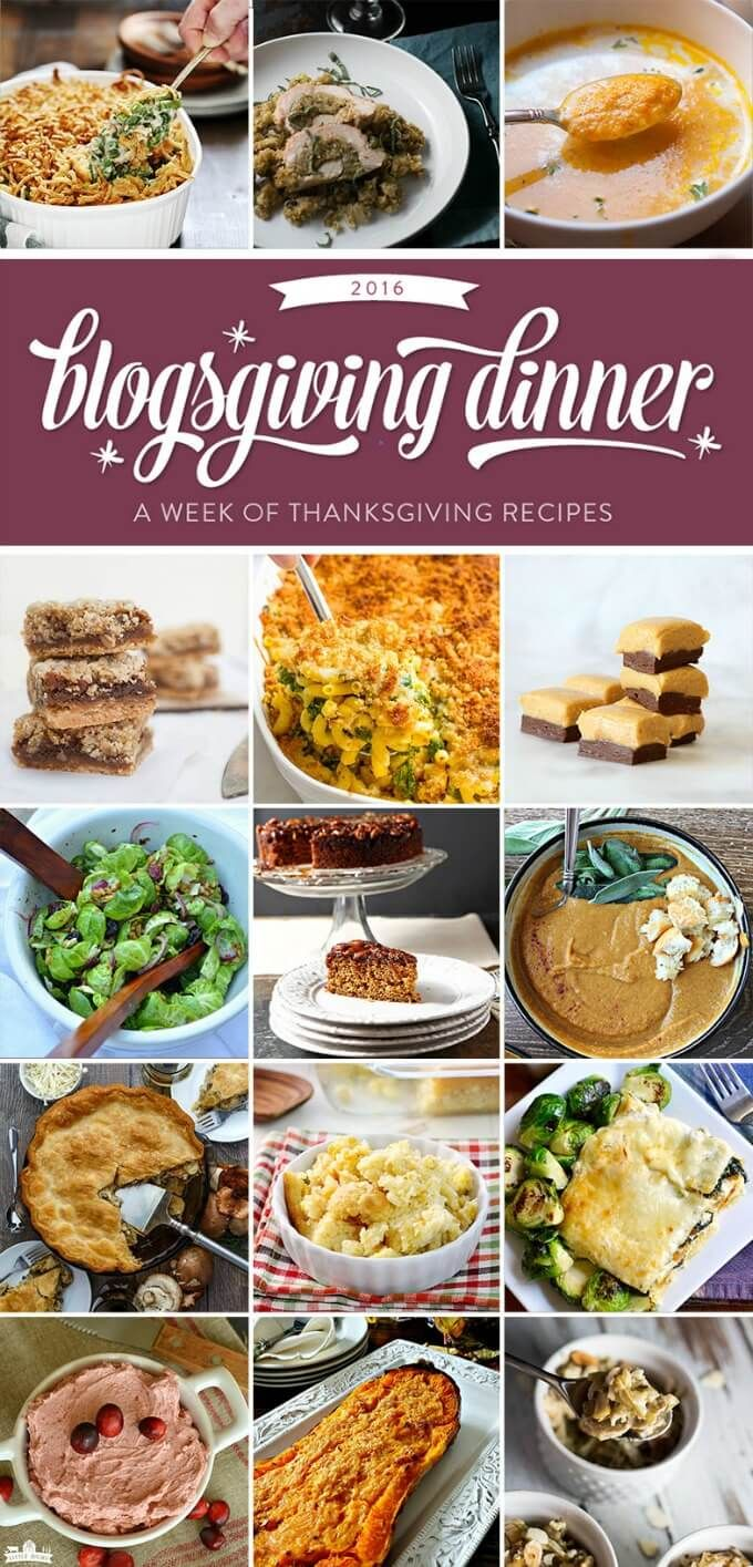 Roasted mushroom pot pie recipe thanksgiving dinners and food blogsgiving dinner a round up from awesome food bloggers just in time for thanksgiving forumfinder Choice Image