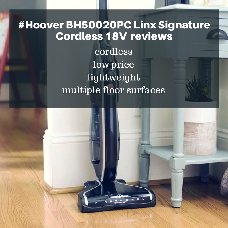 Hoover BH50020PC Linx Signature Cordless 18V reviews