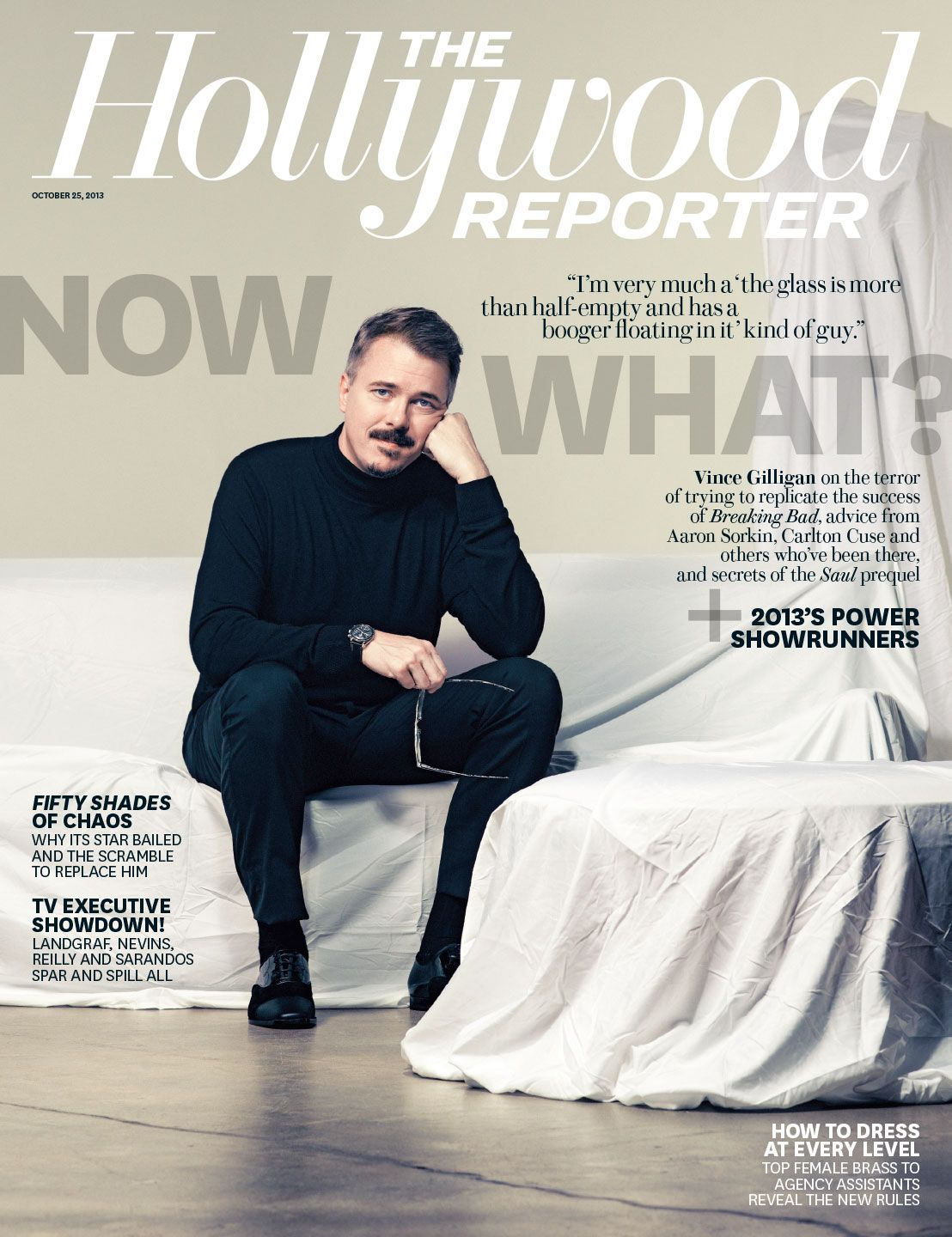 'Breaking Bad's' Vince Gilligan Reveals Details of 'Saul' Spinoff and Terror Over What's Next - The Hollywood Reporter