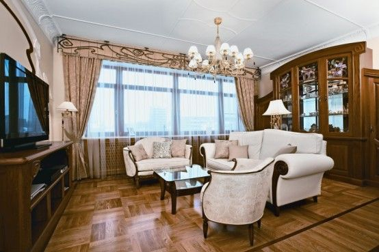 Bon Living Room In Art Nouveau Interior Design