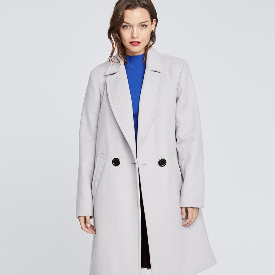 e69f0f3b911 Blush Double Breasted Coat