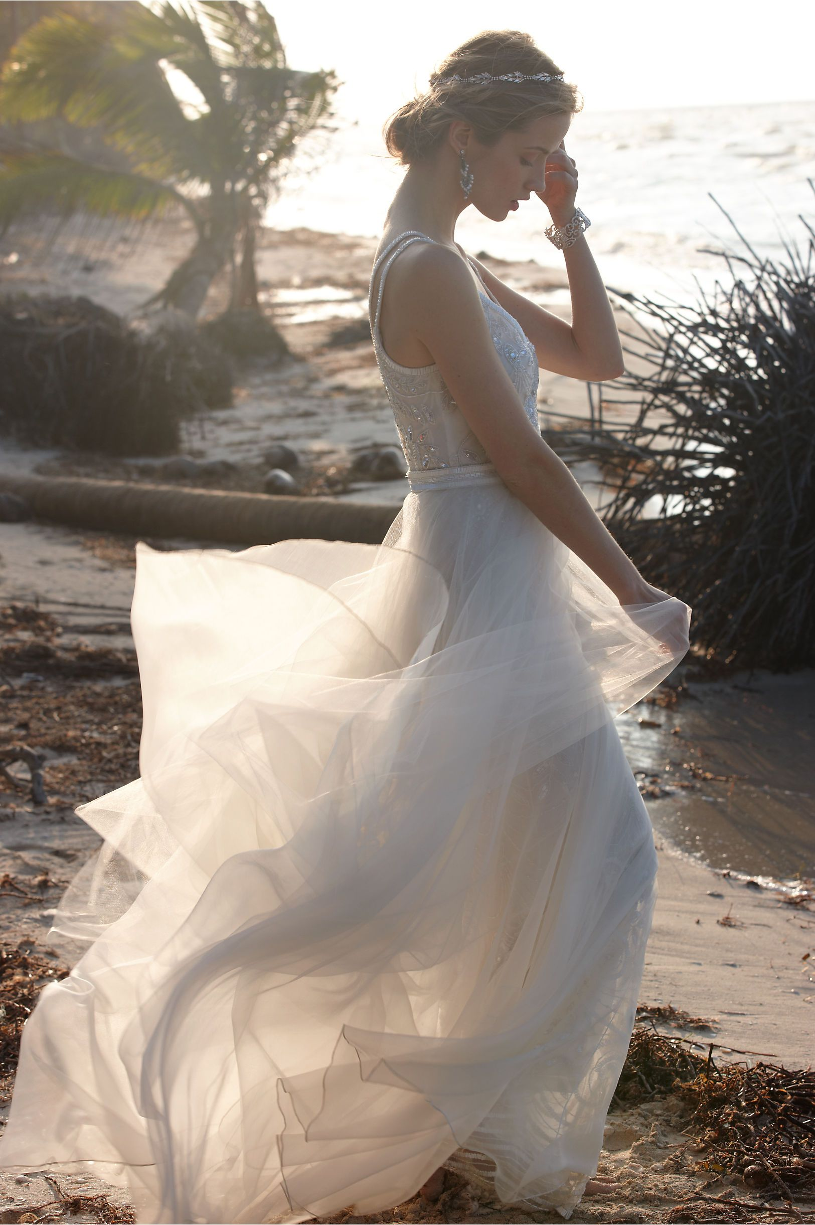 Elsa Tulle Skirt in Bride Wedding Dresses at BHLDN 498€ und heißts ELSA :D
