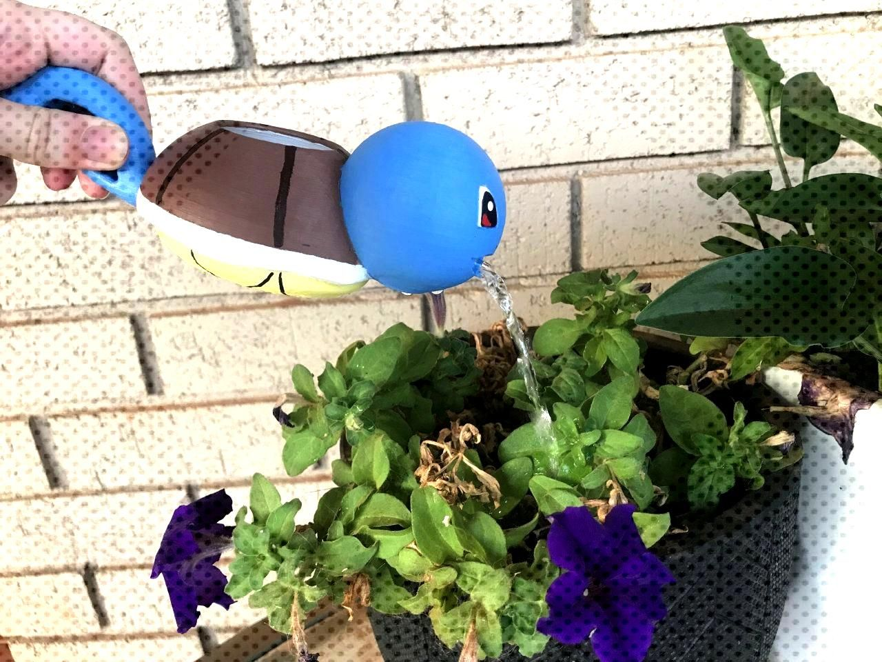 3D Printed Pokemon Watering Cans made by Jessica Geale -