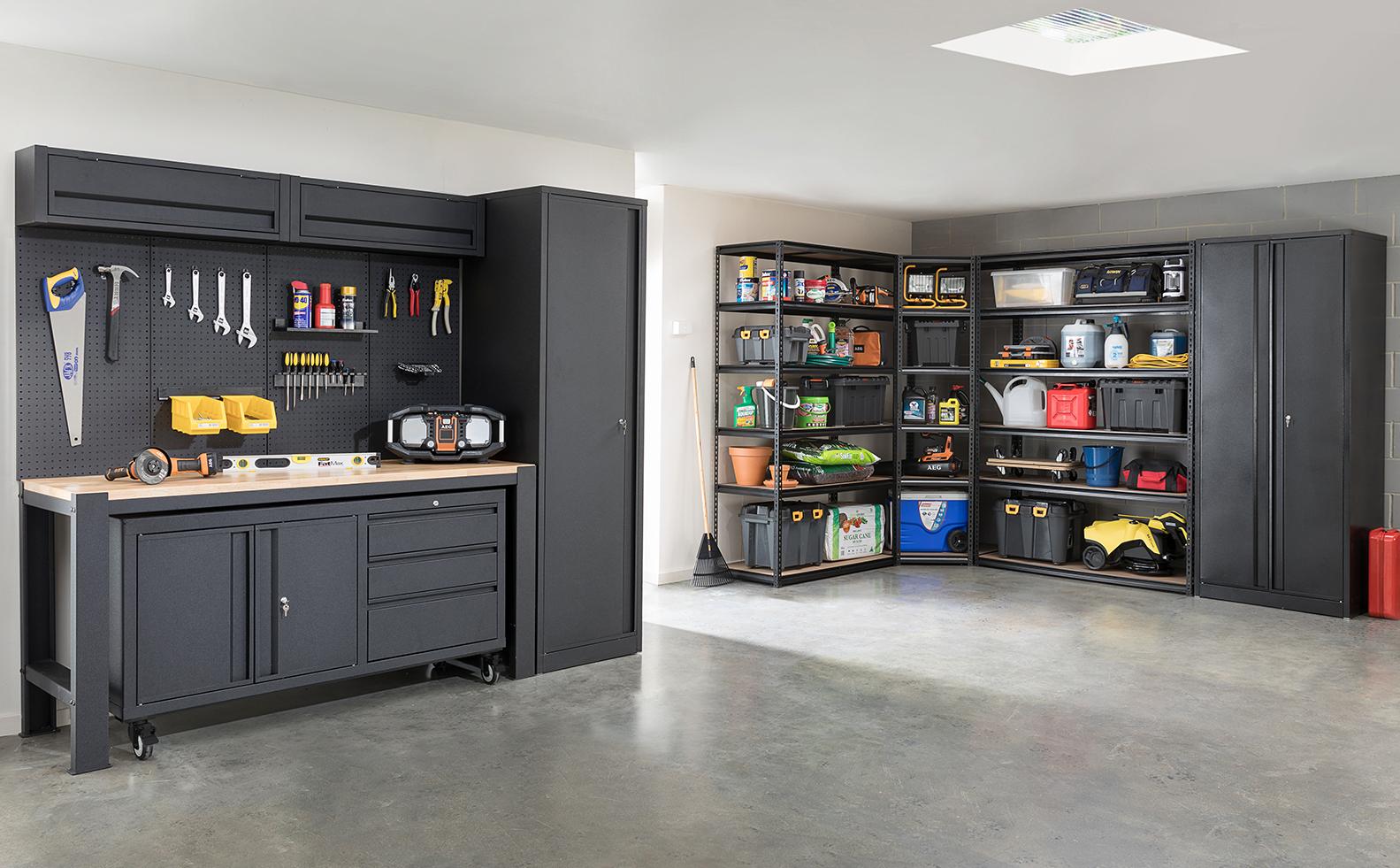 Bunnings Pinnacle Garage Fit Out Storage Locker Storage Garage Storage