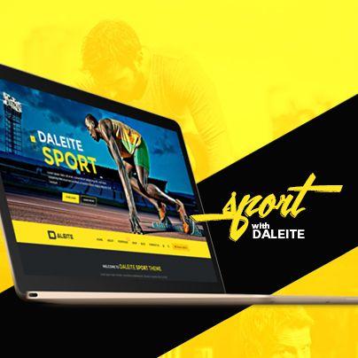 """다음 @Behance 프로젝트 확인: """"SPORT with Daleite - eCommerce template for Sport store"""" https://www.behance.net/gallery/36193309/SPORT-with-Daleite-eCommerce-template-for-Sport-store"""