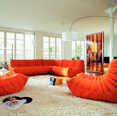 Roche Bobois Togo Sofa   This, And A Saarinen Tulip Table, And Iu0027d Be Happy