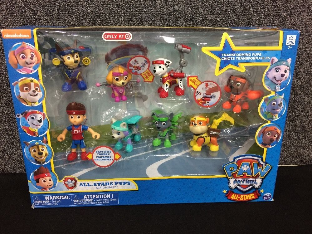 511dbb86d118 NEW 2016 Paw Patrol ALL-STAR Pups Action Pack Series 8 Set w  Ryder ...