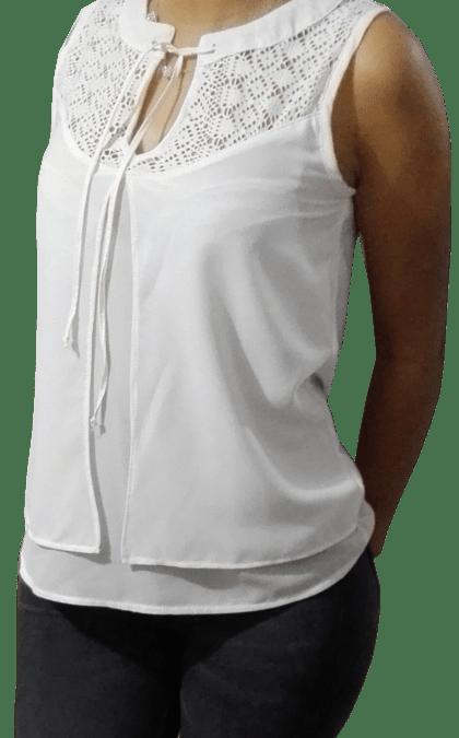 Como hacer una blusa doble capa Corte y Confección