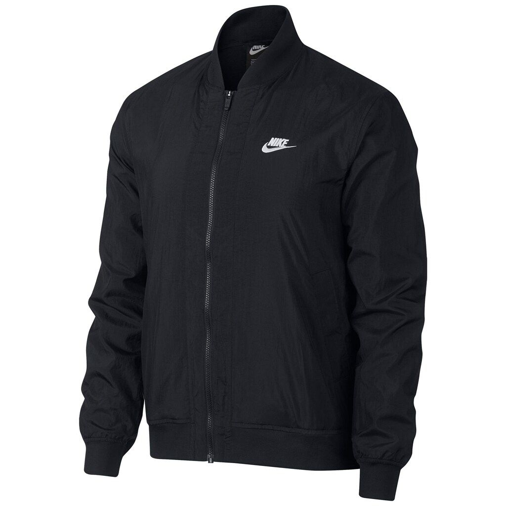 Men S Nike Letterman S Jacket Bomber Jacket Men Nike Clothes Mens Mens Jacket Black [ 1024 x 1024 Pixel ]