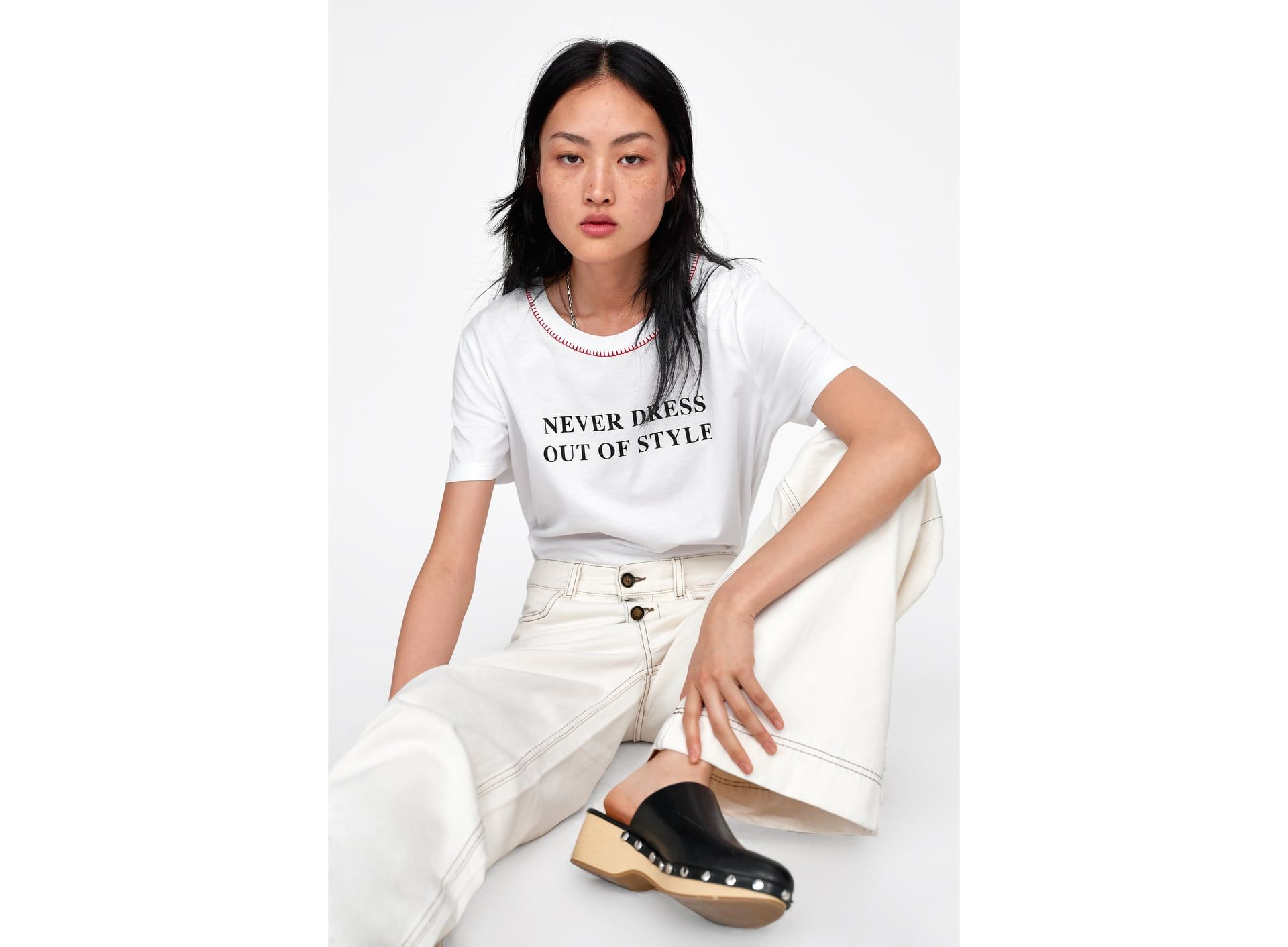 d99767fec0 Women's T-shirts | New Collection Online | ZARA Canada | SUMMER '19 ...