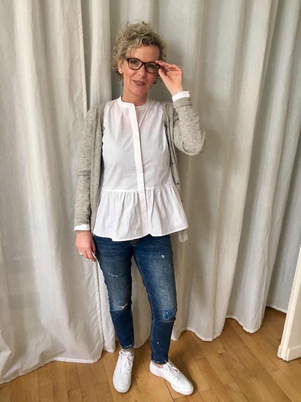 1cfe7e14481b Die weisse Bluse - DAS Basicteil   my style   Weiße bluse, Bluse und ...