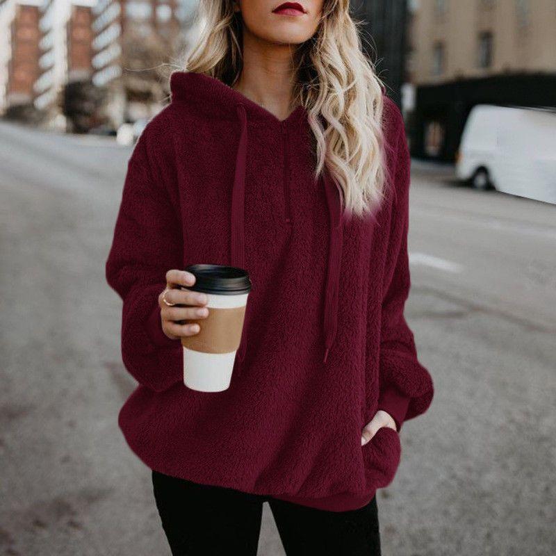 20eecca8f68 Winter Women'S Warm Faux Fur Fleece Hoodies Pullover Jacket Coat Sweatshirt  Tops #fashion #clothing #shoes #accessories #womensclothing #activewear  (ebay ...