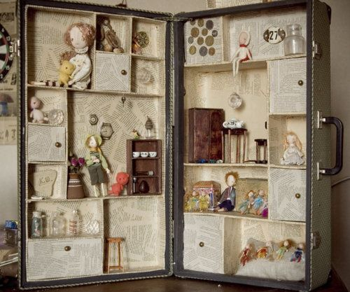 What Can You Make with a Vintage Suitcase | Vintage suitcases ...