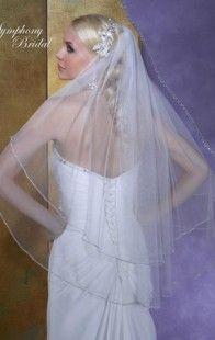 Symphony Bridal Veils - Style 6127VL