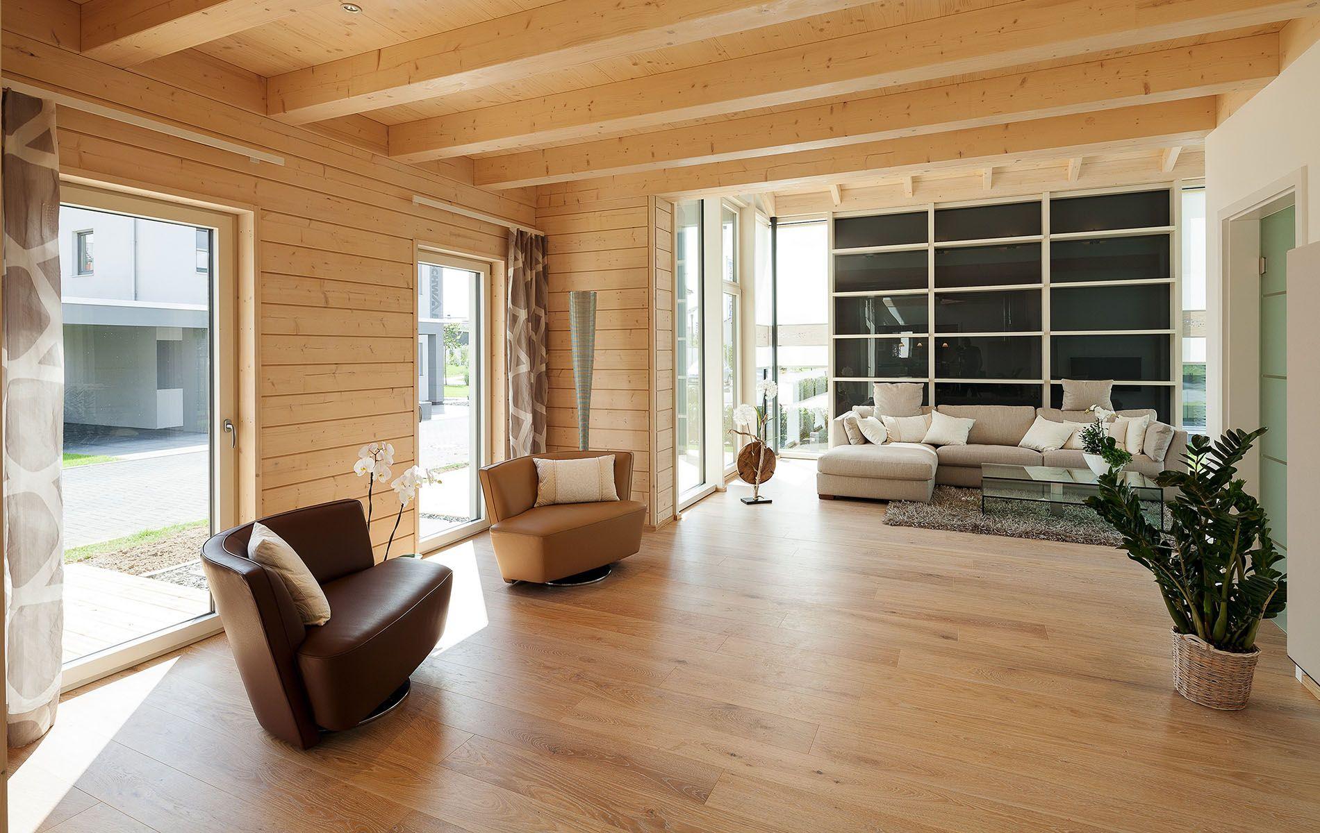 Natürlich wohnen im HolzFertighaus Stommel haus, Haus