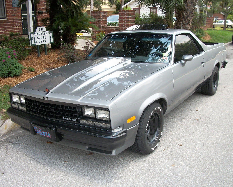 80s Chevy El Camino, not bad