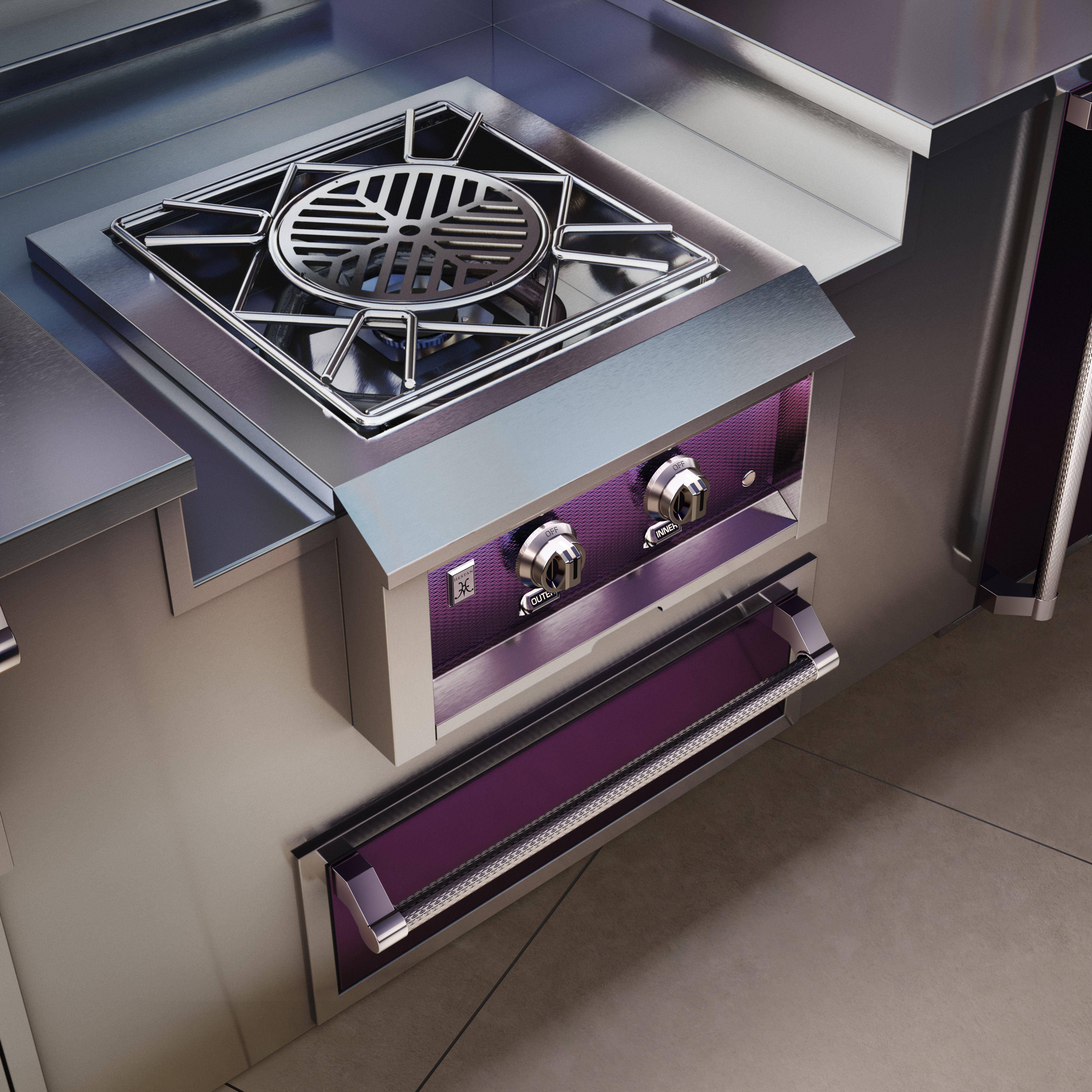24 Outdoor Power Burner Stainless Steel Side Burner Hestan In 2021 Installing Cabinets Storage Drawers Outdoor Kitchen Island
