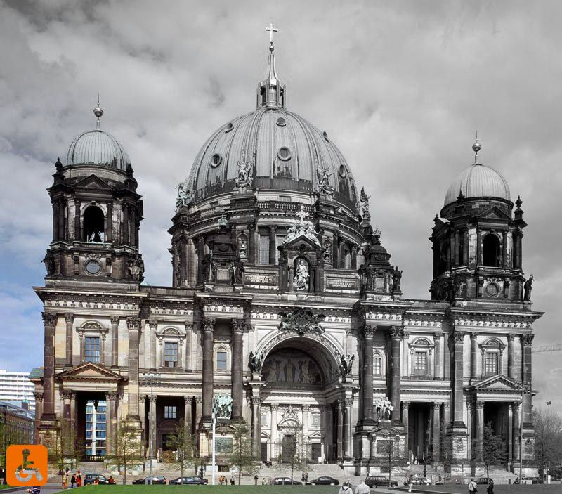 Berlin Cathedral South Side