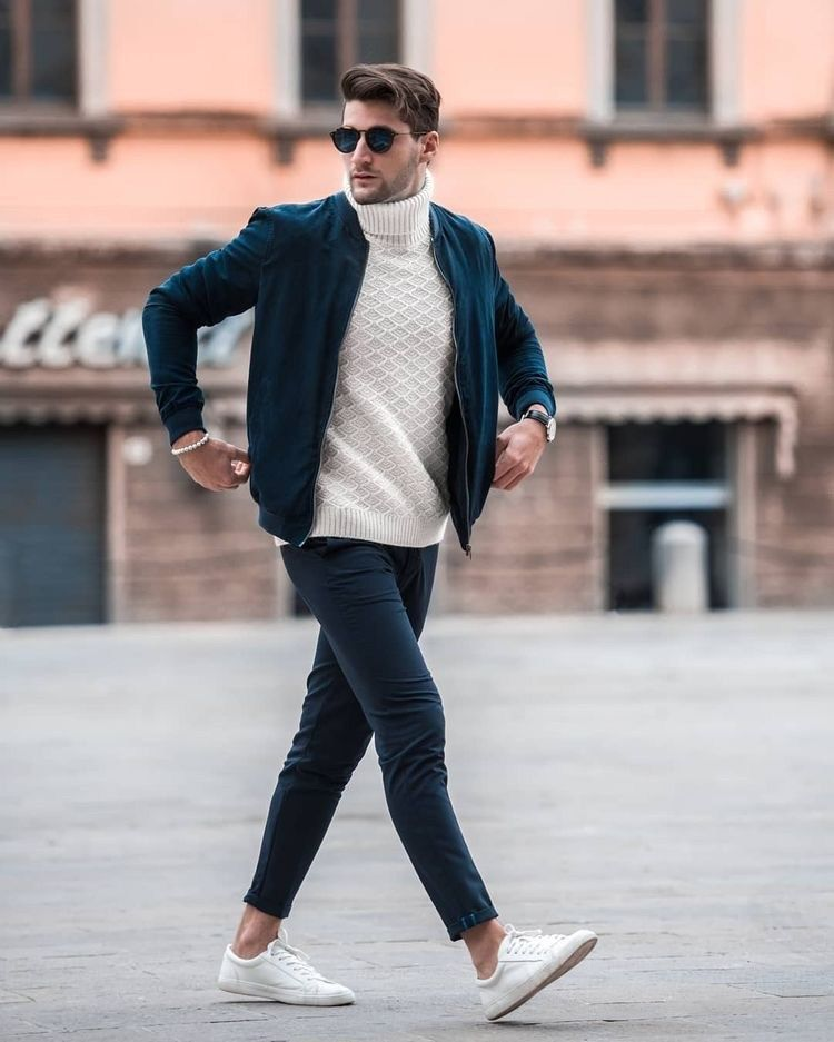 14 Savvy Turtleneck Streetwear Outfits  Honcho Lifestyle