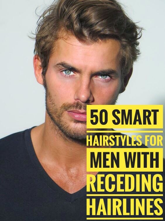 50 Hairstyles For Men With Receding Hairlines Smart