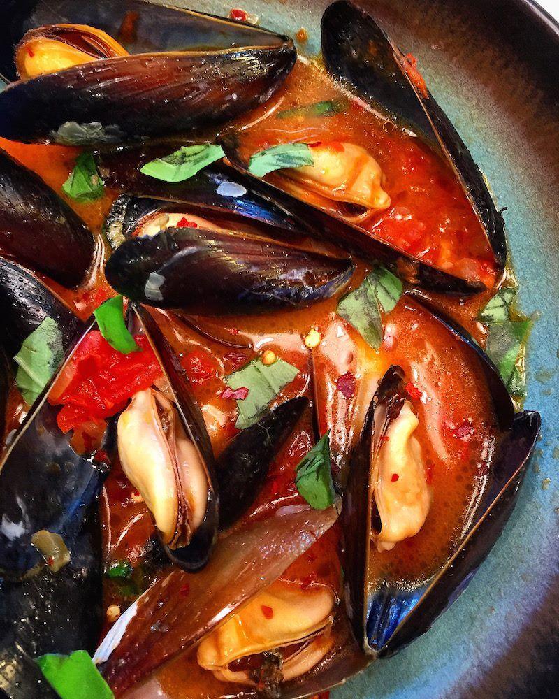 Dinner Divas Weekly Menu Plan 64 Mussels Food Recipes Seafood Recipes