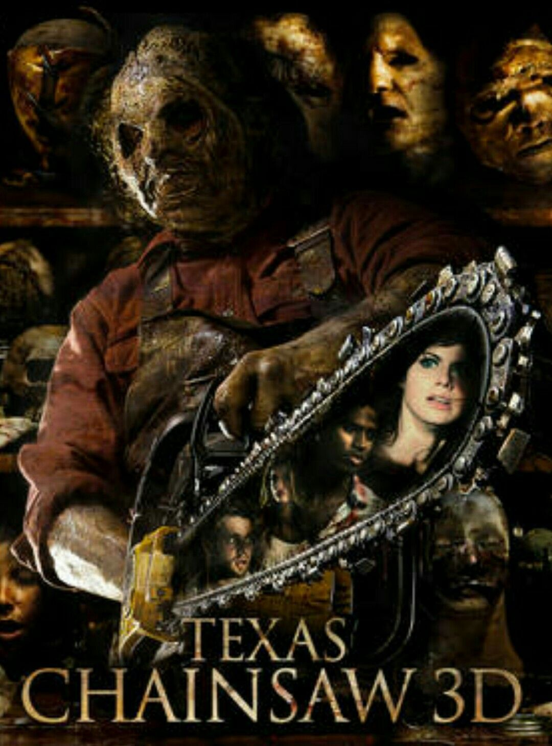 Texas Chainsaw 3D Horror Movie Slasher