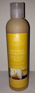 Enter to Win a full 8oz bottle of CUCCIO Milk and Honey Skin Polisher.