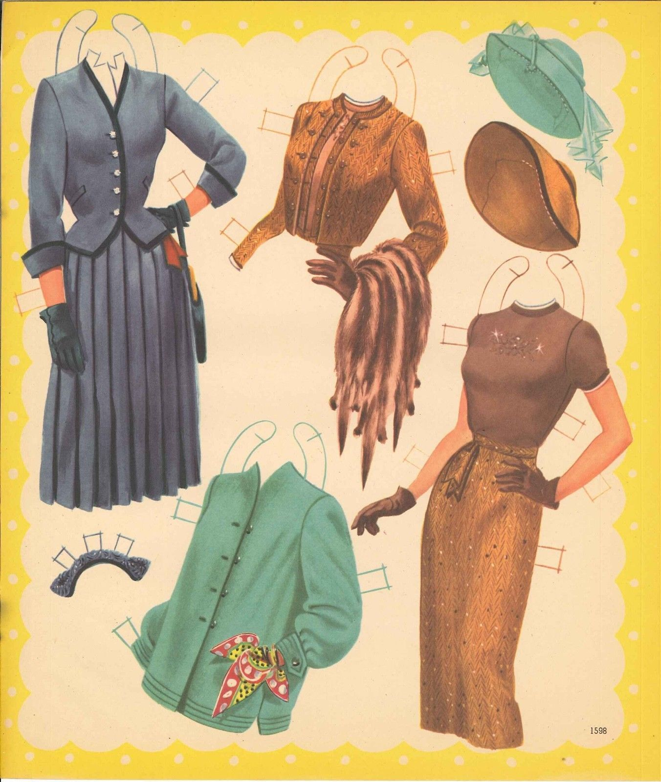 Pin On Paper Dolls