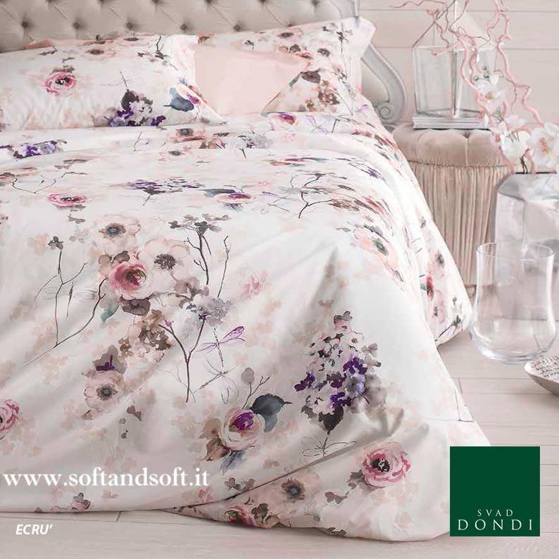 Non brand Completo Lenzuola di Flanella Matrimoniale Magnolie-Rosa-Matrimoniale