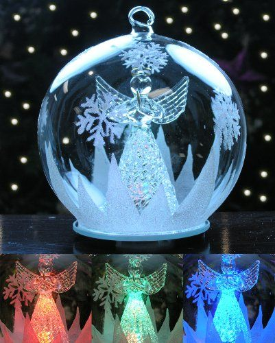Angel LED Christmas Ornament Banberry Designs http://www.amazon ...
