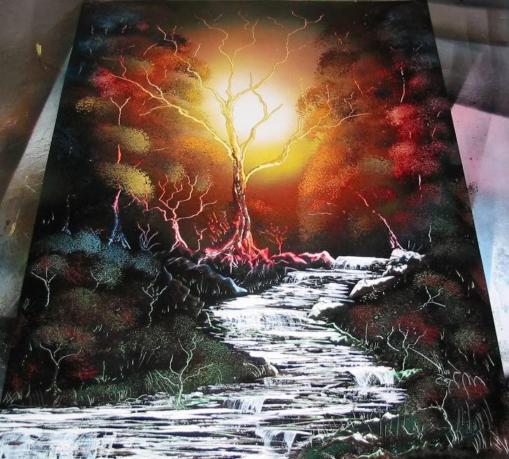 Spray Paint Art Ideas Part - 16: Get A Street Spray Paint Art - Beautiful