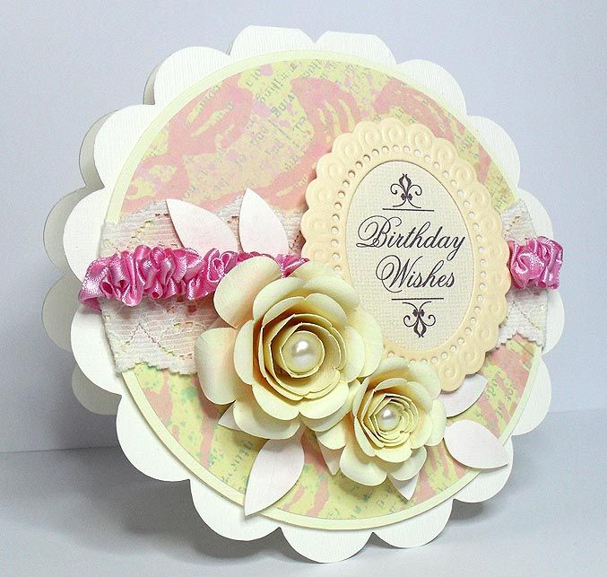 rolled flower 1 birthday card by birdYou really need to check – 1 Birthday Card